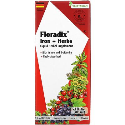 Gaia Herbs Floradix, Iron + Herbs, 23 fl oz (700 ml)