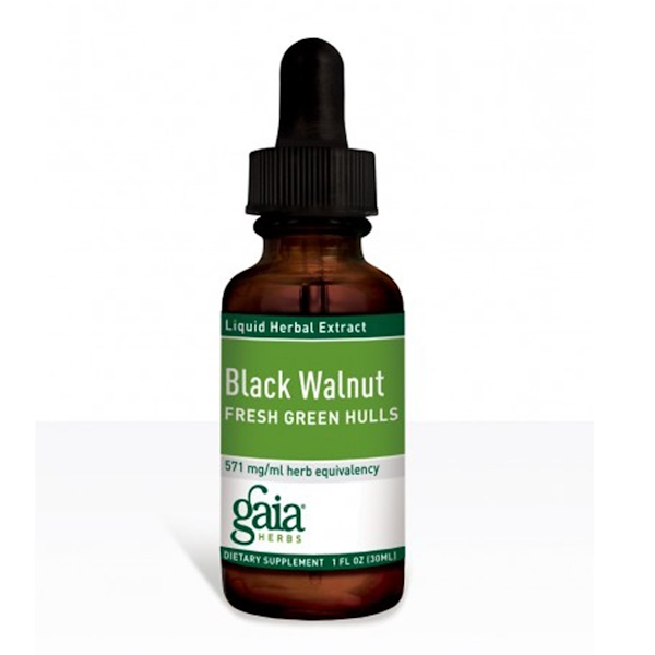 Black Walnut, Fresh Green Hulls, 1 fl oz (30 ml)