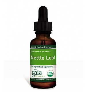 Gaia Herbs, Certified Organic, Nettle Leaf, 1 fl oz (30 ml)