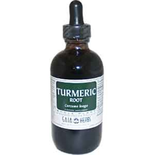 Gaia Herbs, Turmeric Root, 4 fl oz (120 ml) (Discontinued Item)