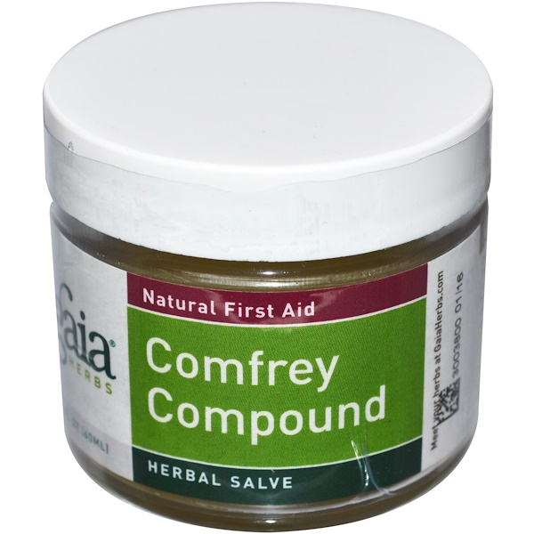 Gaia Herbs, Comfrey Compound, 2 fl oz (60 ml) (Discontinued Item)