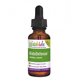 Gaia Herbs, Kids Defense Herbal Drops, Alcohol-Free Formula, 1 fl oz (30 ml)
