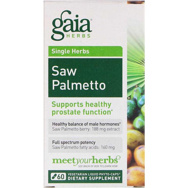 Saw Palmetto, 60 Vegetarian Liquid Phyto-Caps