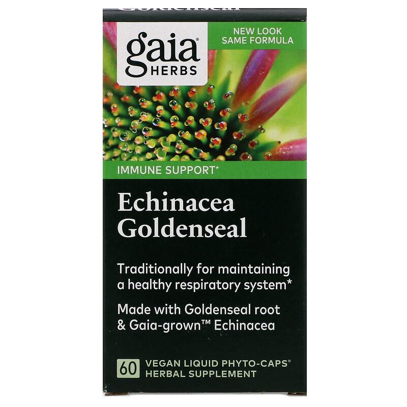 Echinacea Goldenseal, 60 Vegan Liquid Phyto-Caps