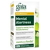 Gaia Herbs, DailyWellness, Mental Alertness, 60 Vegetarian Liquid Phyto-Caps
