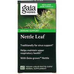 Gaia Herbs, 風疹塊葉,60 粒全素液體素食膠囊