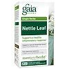 Gaia Herbs, イラクサの葉、60 ベジタリアンに適応した液体植物性カプセル