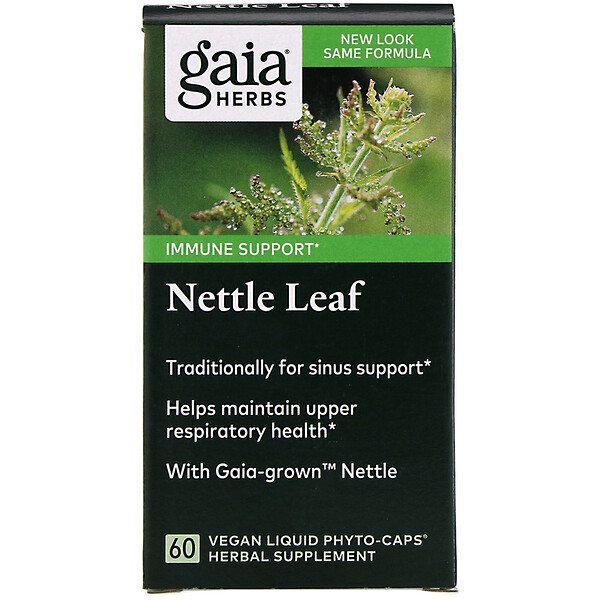 Nettle Leaf, 60 Vegan Liquid Phyto-Caps
