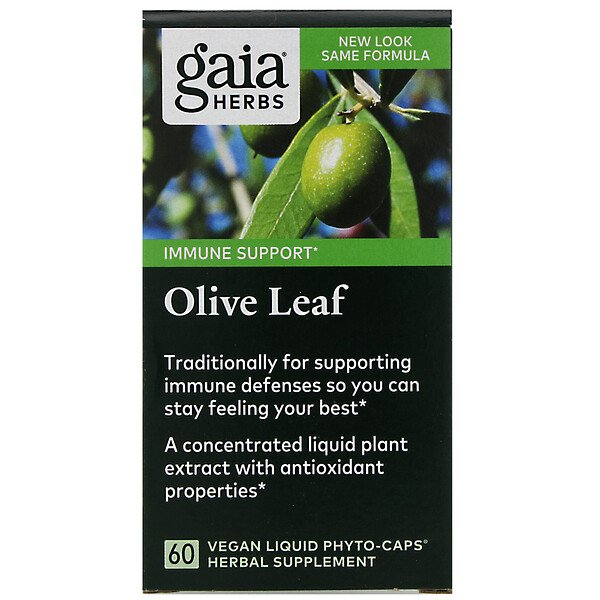 Olive Leaf, 60 Vegan Liquid Phyto-Caps