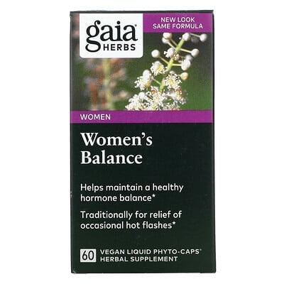 Купить Gaia Herbs Women's Balance, 60 Veggie Liquid Phyto-Caps