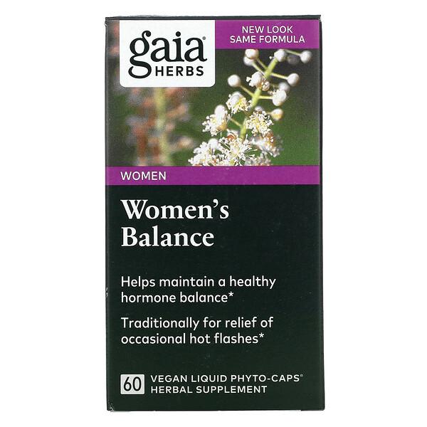 Women's Balance, 60 Vegan Liquid Phyto-Caps