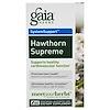 Gaia Herbs, Hawthorn Supreme, 60 Vegetarian Liquid Phyto-Caps