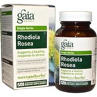 Родиола розовая, 60 вегетарианских фитокапсул с жидким содержимым - фото