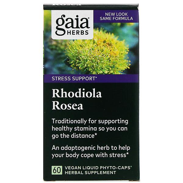 Rhodiola Rosea, 60 Vegan Liquid Phyto-Caps