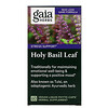 Gaia Herbs, Holy Basil Leaf, 60 Vegan Liquid Phyto-Caps
