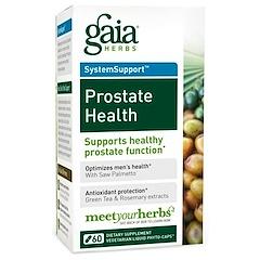 Gaia Herbs, Prostate Health, 60 Vegetarian Liquid Phyto-Caps