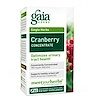 Gaia Herbs, Cranberry Concentrate, 60 Vegetarian Liquid Phyto-Caps