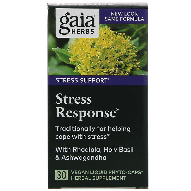 Stress Response, 30 Vegan Liquid Phyto-Caps