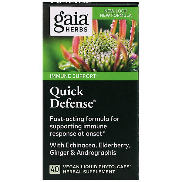 Quick Defense, 40 Vegan Liquid Phyto-Caps
