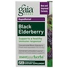 Gaia Herbs, Black Elderberry, 30 Vegan Capsules