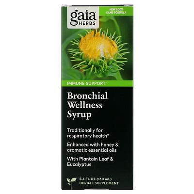 Купить Bronchial Wellness Syrup, 5.4 fl oz (160 ml)