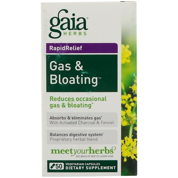 RapidRelief, Gas & Bloating, 50  Capsules