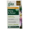 Gaia Herbs, RapidRelief, Sleep & Relax, 50 Capsules