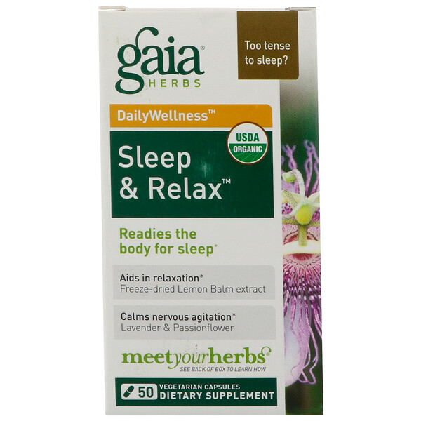 RapidRelief, Sleep & Relax, 50 Capsules