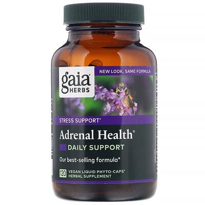 Adrenal Health, ежедневная поддержка, 120растительных капсул Phyto-Caps креатин olimp sport nutrition тсм mega caps 120 капсул