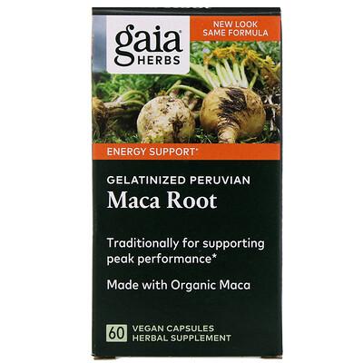 Желатинированный корень маки, 60 растительных капсул красный корень таб 60