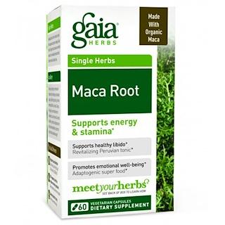 Gaia Herbs, Maca Root, 60 Veggie Caps