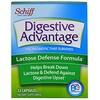 Schiff, Digestive Advantage、ラクトース・ディフェンス・フォーミュラ、カプセル 32錠