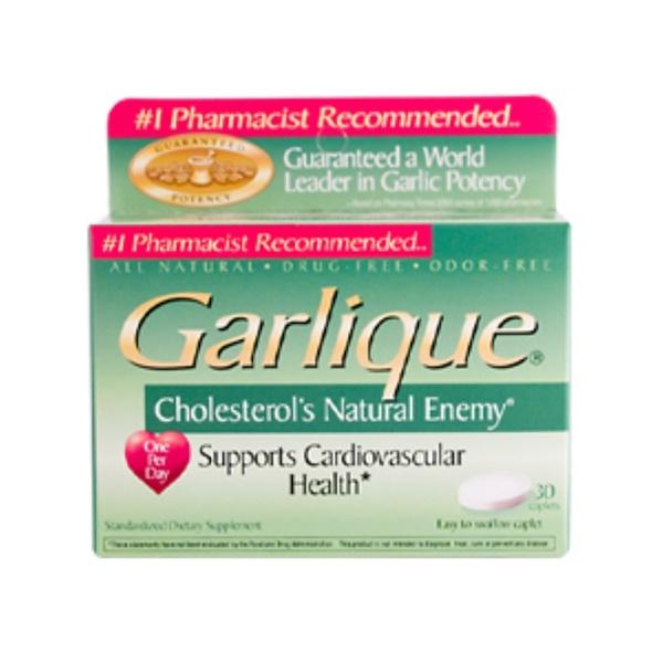 Sun Source, Garlique, 30 Caplets (Discontinued Item)
