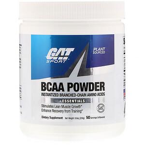 ГАТ, BCAA Powder, Unflavored, 8.8 oz (250 g) отзывы