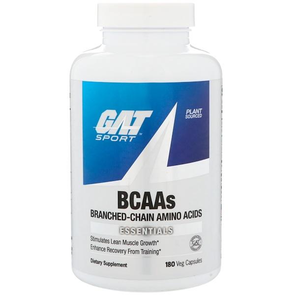 GAT, BCAAs, 180 Veg Capsules (Discontinued Item)