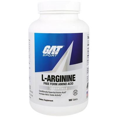 цена на L-Arginine, Free Form, 180 Tablets
