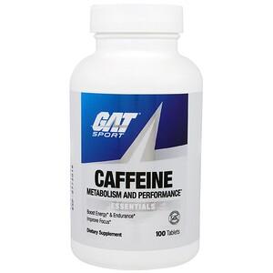 ГАТ, Caffeine Metabolism and Performance, Essentials, 100 Tablets отзывы покупателей