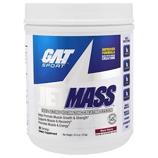 GAT, Sport, JetMass, Volumizing Creatine System, Black Cherry, 1.58 lbs (720 g)