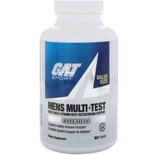 GAT, Mens Multi + Test, 150 Tablets