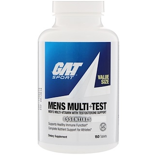 GAT, Mens Multi + Test, 150 Comprimidos
