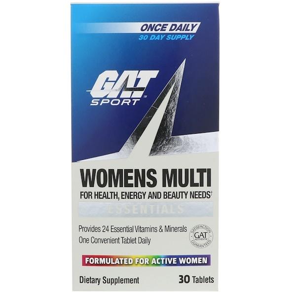 GAT, Women's Multi Vitamin, 30 Tablets (Discontinued Item)