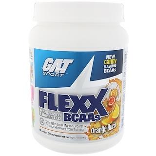 GAT, Flexx BCAAs, explosión de naranja, 24.3 oz (690 g)