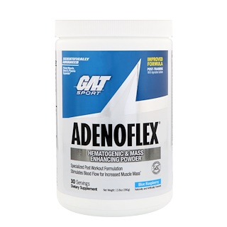 GAT, AdenoFlex, Голубая малина, 13,8 унц. (390 г)