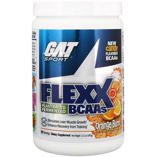 GAT, Flexx BCAAs, Orange Burst, 12.1 oz (345 g)