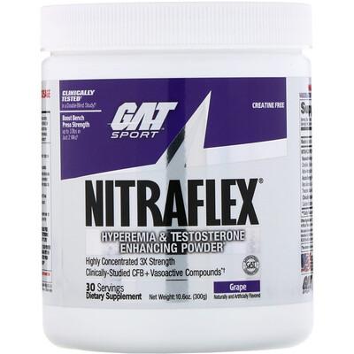Купить GAT NITRAFLEX, Grape, 10.6 oz (300 g)