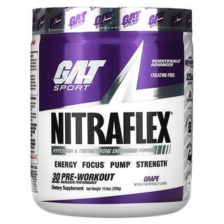GAT, Sport, NITRAFLEX, Grape, 10.9 oz (309 g)