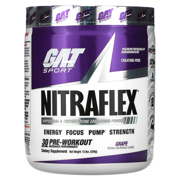 Sport, NITRAFLEX, Grape, 10.9 oz (309 g)