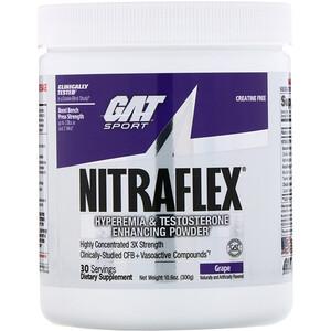 ГАТ, NITRAFLEX, Grape, 10.6 oz (300 g) отзывы