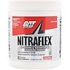 GAT, NITRAFLEX 男士睾酮補充劑,桃子芒果味,10.6 盎司(300 克)