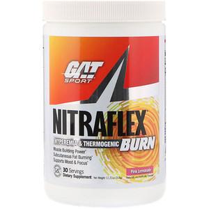 ГАТ, NITRAFLEX BURN, Pink Lemonade, 11.21 oz (318 g) отзывы